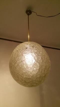 Barovier Art Deco Art Glass Ball Pendant - 1760385