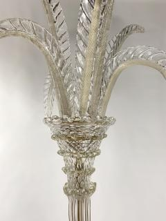 Barovier and Toso 1940 Glass Floor Lamp Very Rare  - 1966086