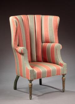 Barrel Back Wing Chair - 472047