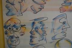 Barry Bleach Set of Nine Caricatures by Barry Bleach - 207327