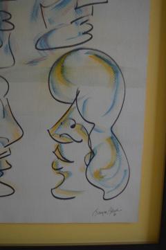 Barry Bleach Set of Nine Caricatures by Barry Bleach - 207328