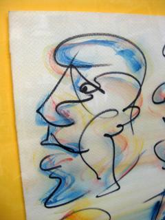 Barry Bleach Set of Nine Caricatures by Barry Bleach - 207330