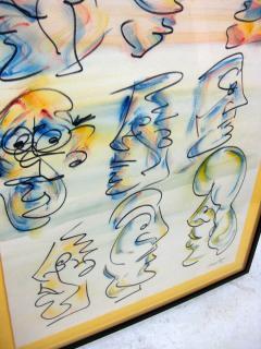 Barry Bleach Set of Nine Caricatures by Barry Bleach - 207331