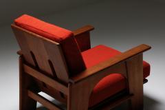 Bas Van Pelt Dutch Oakwood Lounge Seating set by Bas Van Pelt 1940s - 1982552