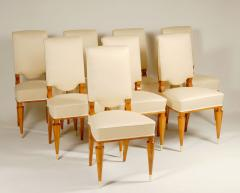 Batistin Spade Set of Eight Dining Chairs by Batastin Spade - 449187