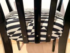 Bauhaus Armchair Black Piano Lacquer on Beech Three Spouts Germany circa 1930 - 1314876