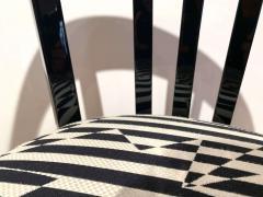 Bauhaus Armchair Black Piano Lacquer on Beech Three Spouts Germany circa 1930 - 1314877