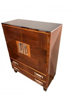 Bauhaus Cabinet Walnut Veneer Germany 1930s - 1026400