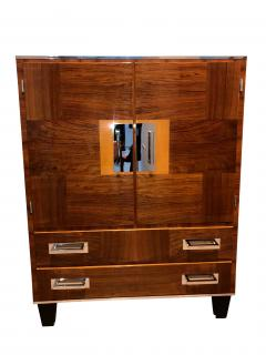 Bauhaus Cabinet Walnut Veneer Germany 1930s - 1026403