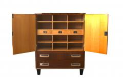 Bauhaus Cabinet Walnut Veneer Germany 1930s - 1026405