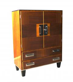 Bauhaus Cabinet Walnut Veneer Germany 1930s - 1026406