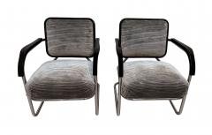 Bauhaus Chromed Steeltube Cantilever Chairs Germany circa 1930 - 1315919