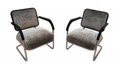 Bauhaus Chromed Steeltube Cantilever Chairs Germany circa 1930 - 1315925