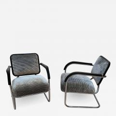 Bauhaus Chromed Steeltube Cantilever Chairs Germany circa 1930 - 1316828