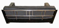 Bauhaus Sofa Chromed Steeltubes and Black Lacquered Wood Germany circa 1930s - 1488087