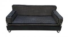 Bauhaus Sofa Chromed Steeltubes and Black Lacquered Wood Germany circa 1930s - 1488095