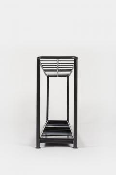 Bauhaus umbrella stand metal 30s - 1849732