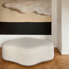Beatrice Pontacq GRAND NUAGE ET HORIZON PRESQUE NOIR Abstract Painting - 1133025
