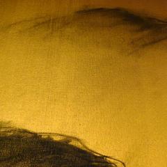 Beatrice Pontacq NUAGES NOIRS SUR FOND OR by B Pontacq - 1032095