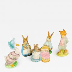 Beatrix Potter s Collectible Animal Figurines Set of 5 - 1731539