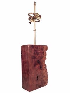Beautiful Burl Table Lamp - 1590428