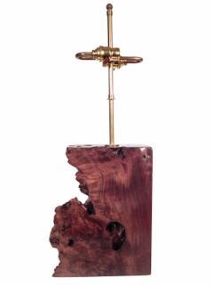 Beautiful Burl Table Lamp - 1590429