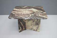 Beautiful Marble Side Table Italy 1970s - 1297773