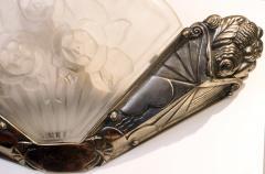 Beautiful Pair of French Art Deco Sconces Signed Gilles Paris - 1988463