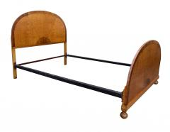 Beautiful Sunray 1930s Art Deco Double Bed - 962195