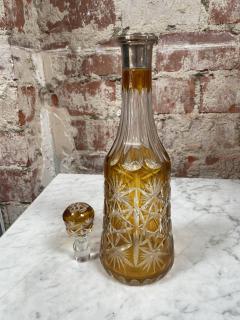 Beautiful Vintage Green Bottle Italy 1950s - 2073219