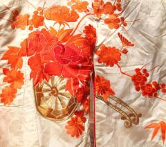 Beautiful Vintage Japanese Ceremonial Kimono Uchikake - 1002453