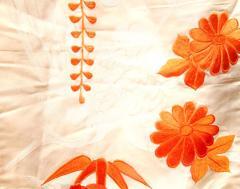 Beautiful Vintage Japanese Ceremonial Kimono Uchikake - 1002454