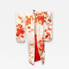 Beautiful Vintage Japanese Ceremonial Kimono Uchikake - 1003281