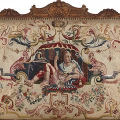 Beauvais Royal Manufacture 18th century Beauvais tapestry furniture suite - 1443682