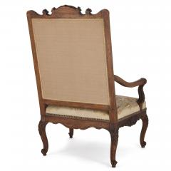Beauvais Royal Manufacture 18th century Beauvais tapestry furniture suite - 1443684