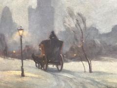Bela de Tirefort Hansom Carriage Central Park  - 1218269