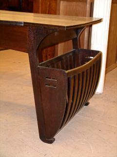 Belgian Art Nouveau Desk and Armchair - 296206