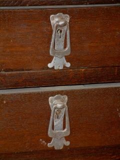 Belgian Art Nouveau Desk and Armchair - 296207