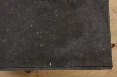 Belgian Bluestone Coffee Table Console with Oak Base France c 1900 - 969833