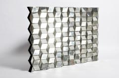 Belgian Glass Cube Brutalist Art Panel by Olivier de Shernee - 1191503