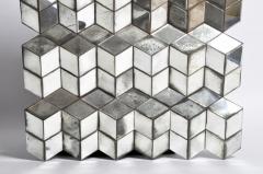 Belgian Glass Cube Brutalist Art Panel by Olivier de Shernee - 1191508