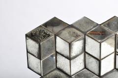Belgian Glass Cube Brutalist Art Panel by Olivier de Shernee - 1191509