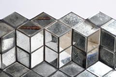 Belgian Glass Cube Brutalist Art Panel by Olivier de Shernee - 1191512