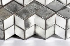 Belgian Glass Cube Brutalist Art Panel by Olivier de Shernee - 1191514