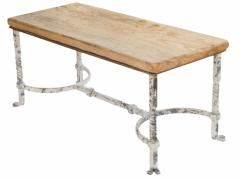 Belgian Wrought Iron Coffee Table - 1893097