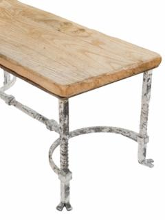 Belgian Wrought Iron Coffee Table - 1893099