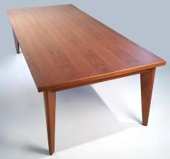 Ben Kanowsky Custom Made Solid Walnut Dining Table from the Studio of Ben Kanowsky - 264865