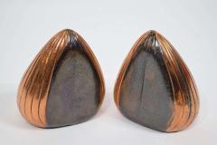 Ben Seibel Ben Seibel Clam Bookends in a Copper Finish - 1279486