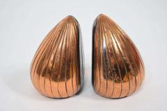 Ben Seibel Ben Seibel Clam Bookends in a Copper Finish - 1279488