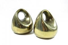 Ben Seibel Ben Seibel for Jenfred Ware Orb Brass Bookends - 307868